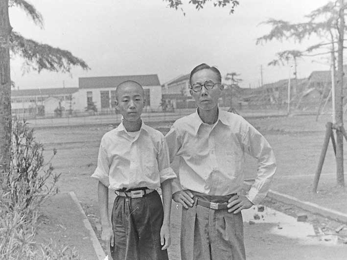 1957年、建国中学2年生に