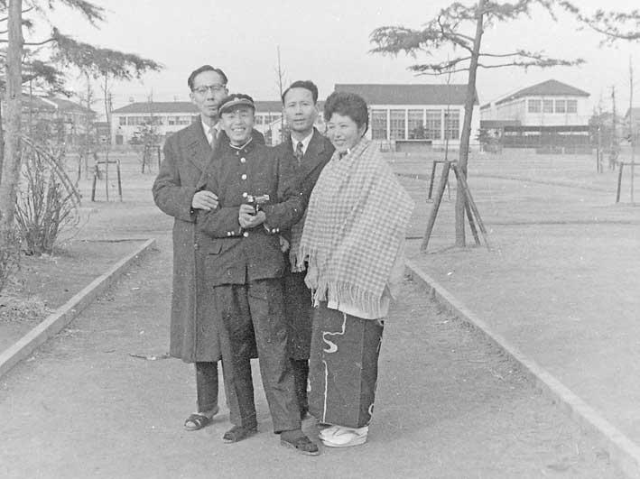 1958年、建国中学生活